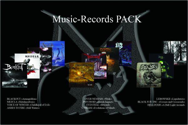 Music-Records pack rock metal market