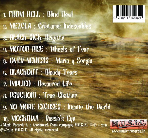 Tracklist Compendium 1 A Metal Quintessence