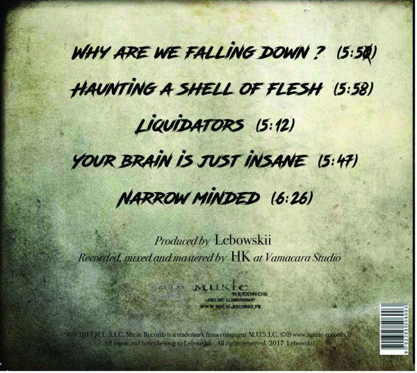 Lebowskii Liquidators Tracklist