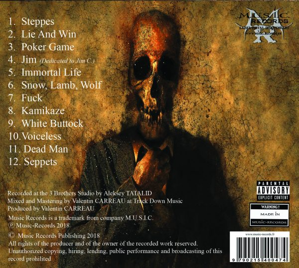 Noitatalid tracklist Furies in the Steppes from Russia