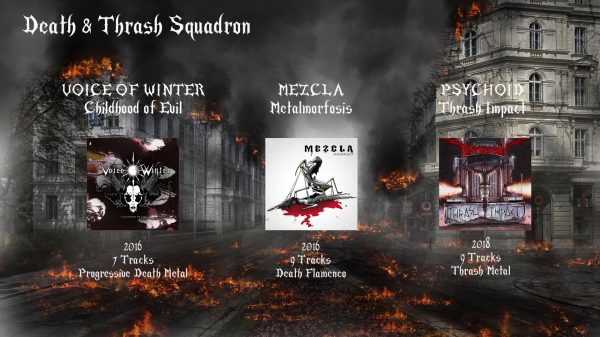 pack death & thrash rock metal market