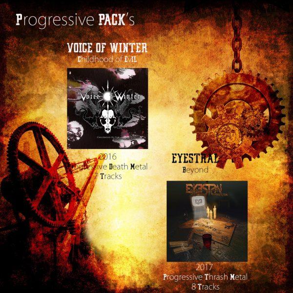 progressive pack rock metal market
