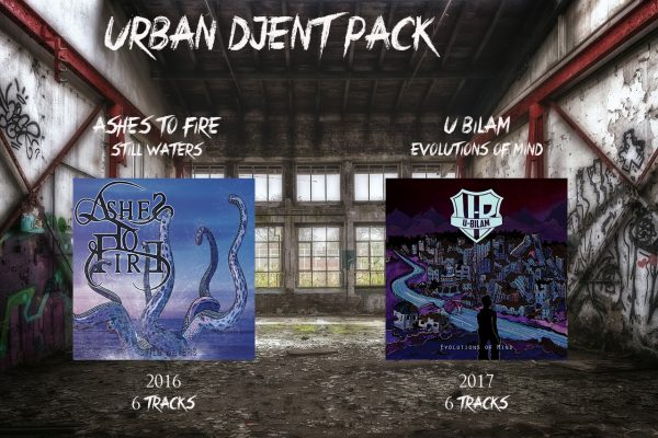 urban djent pack rock metal market