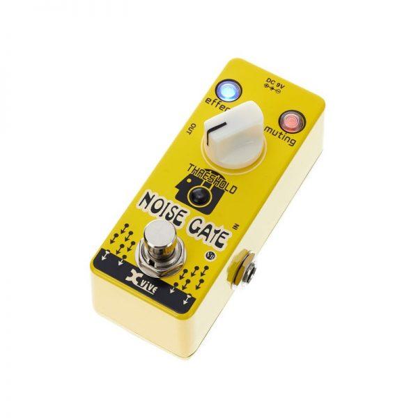 pedale-x-vive-noise-gate-jaune
