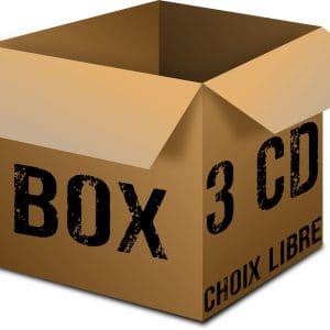 BOX 3 CD Choix libre Rock Metal Market