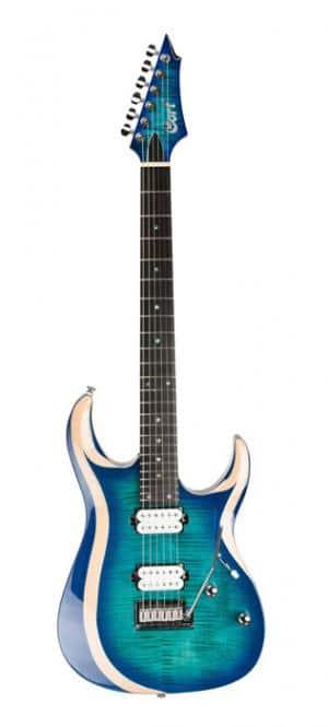 GUITARE CORT X700 DUALITY L. BLUE BURST _ LZDM rock metal market