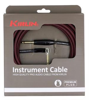 CABLE GUITARE KIRLIN 3M JACK JACK COUDE prenium plus rock metal market music records