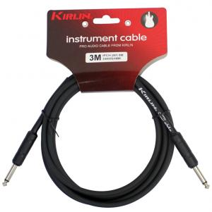 CABLE GUITARE KIRLIN 3M JACK JACK NOIR rock metal market music records