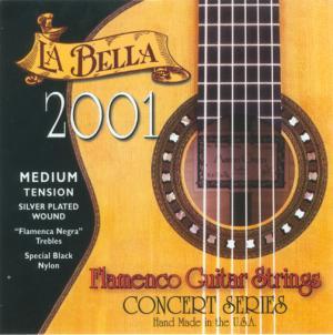 JEU FLAMENCO LA BELLA 2001 MEDIUM music records rock metal market