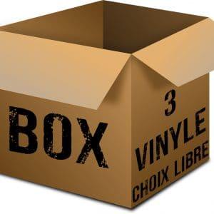 BOX 3 vinyl rock metal market music records