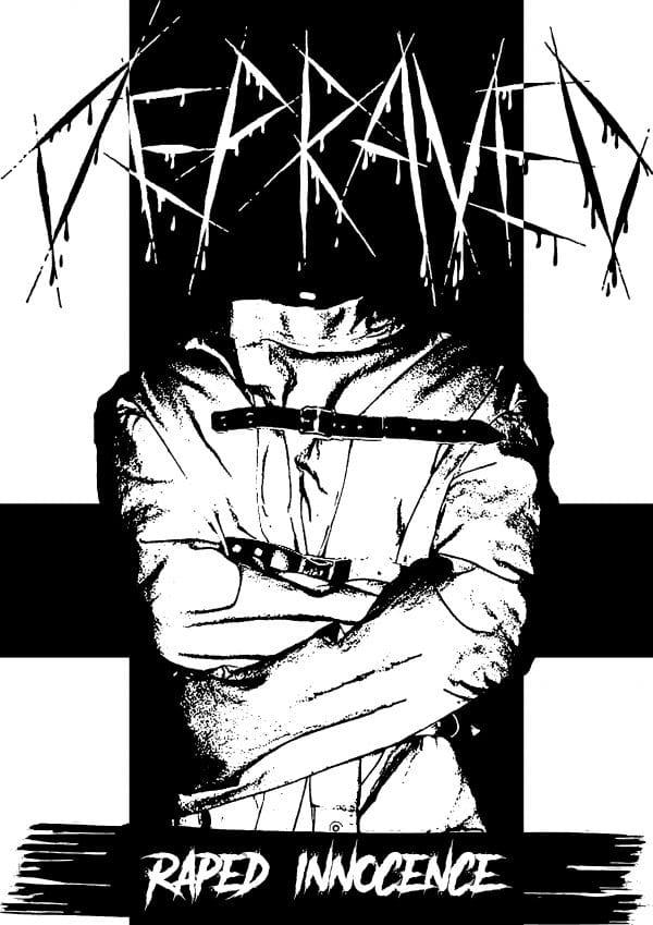 Depraved T-shirt Asylum top music-records